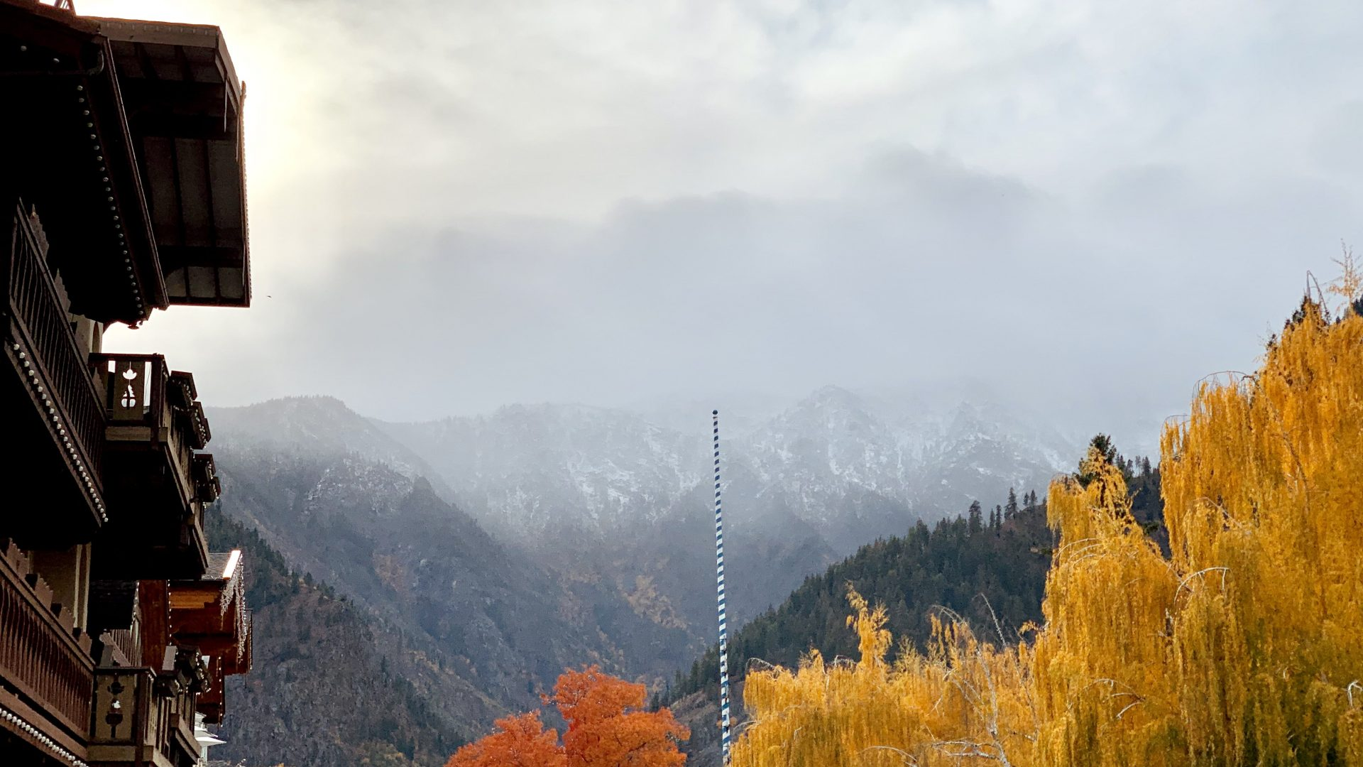 Fall colors and foliage in Leavenworth
