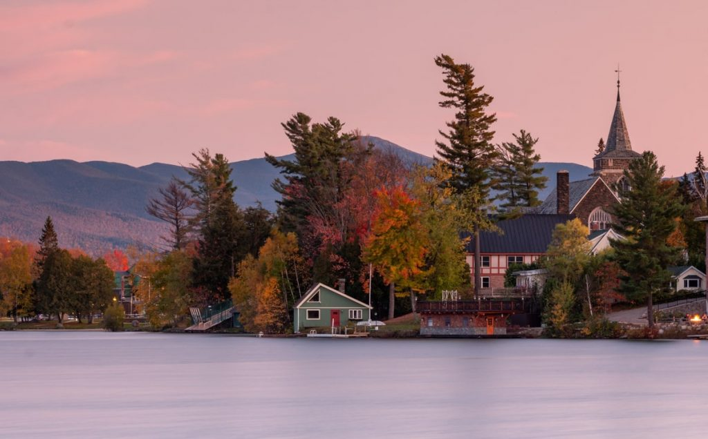 Adirondack Mountains, New York, fall