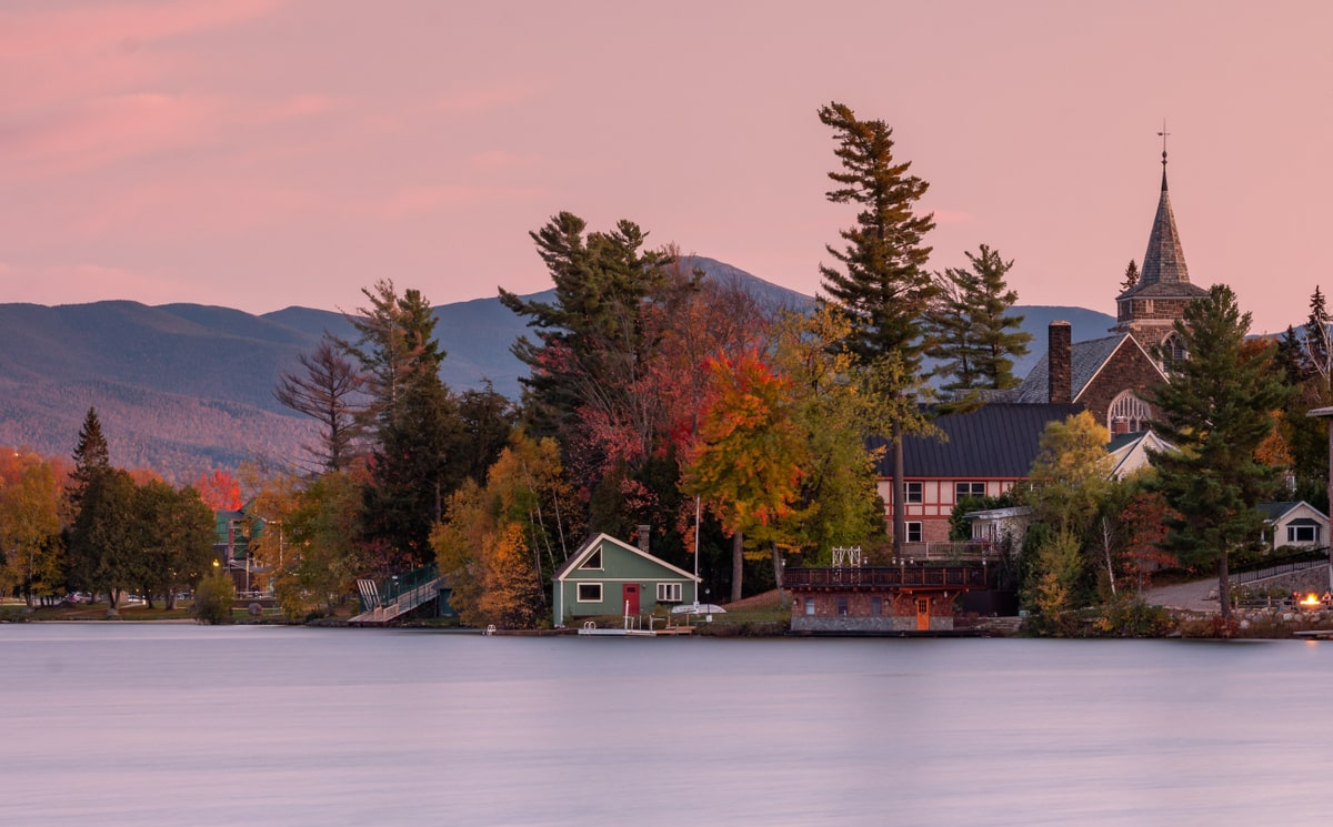 Adirondack Mountains, New York, fall destination