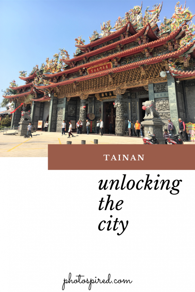 Tainan. travel guide