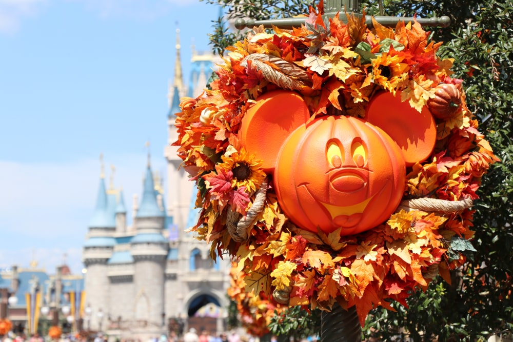 Disney World, Florida, fall destination