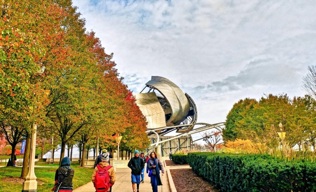 Millennium Park, Chicago, Illinois, fall destination