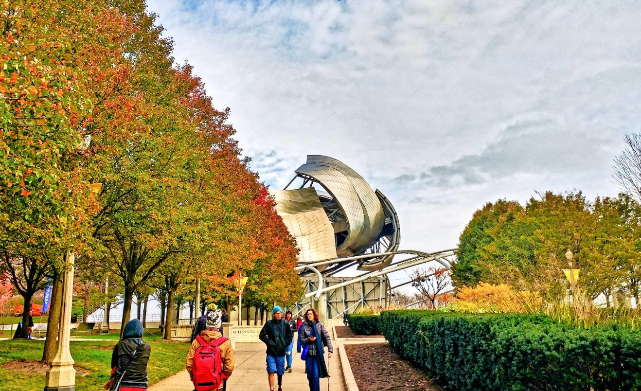 fall destination, Millennium Park, Chicago, Illinois