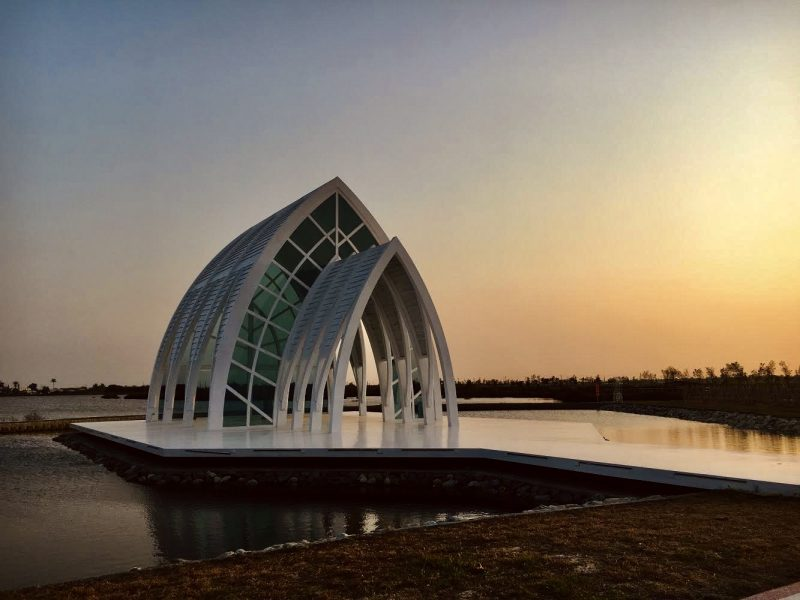Beimen Crystal Church is one of Tainan's most insta-worthy spots at sunset