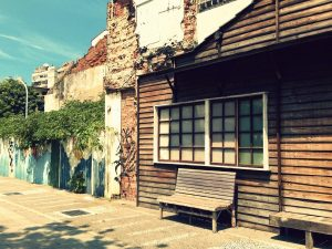 An old house on Shennong Road in Tainan