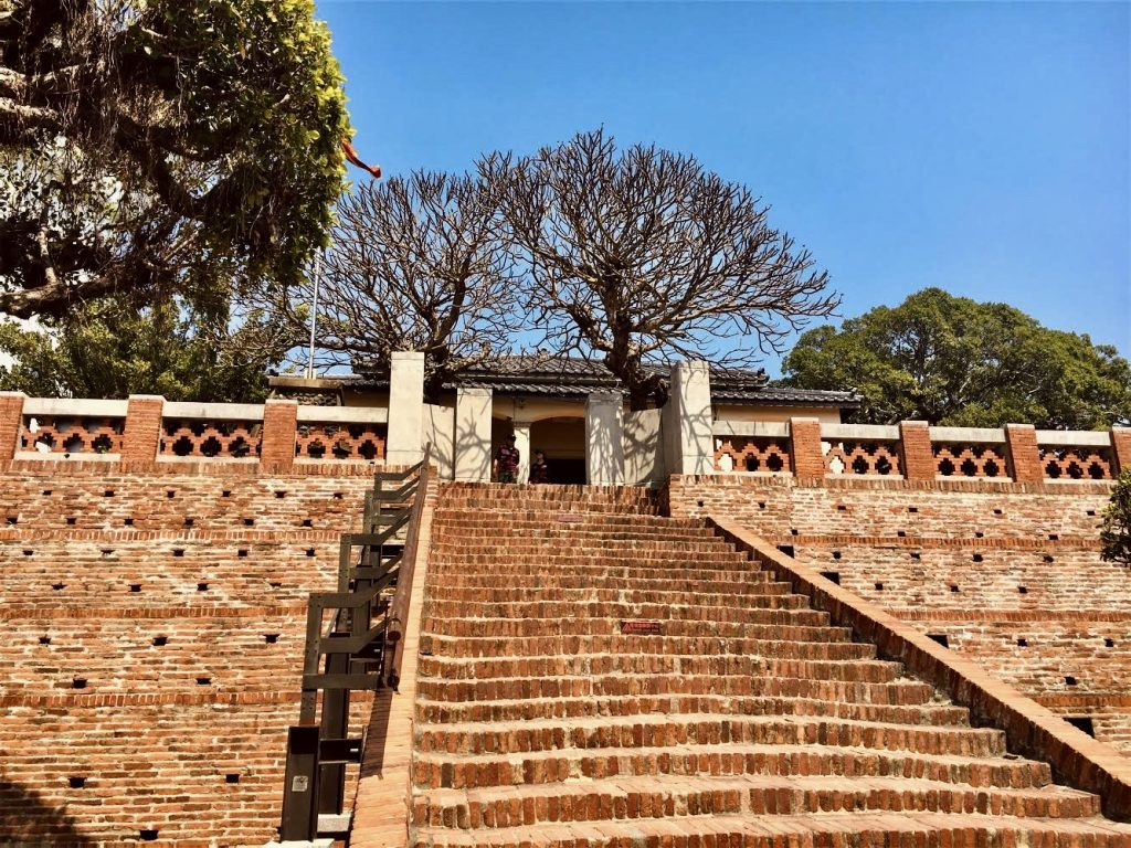 Memorial hall highlighting Tainan's history and culture at Anping Old Fort