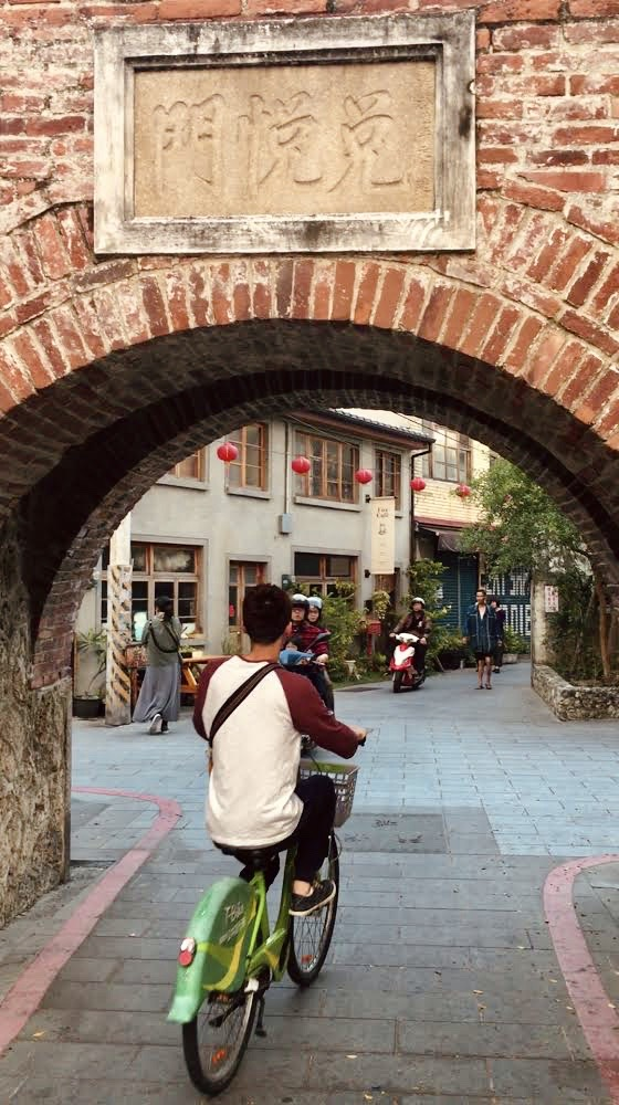 Duiyue Gate signifies the historic waterways that contributed to the development of Tainan's history and culture