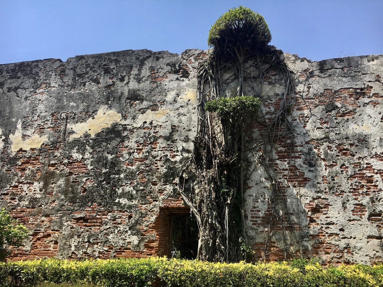 Remnants of the old Anping Fort stands testament to Tainan's history and culture