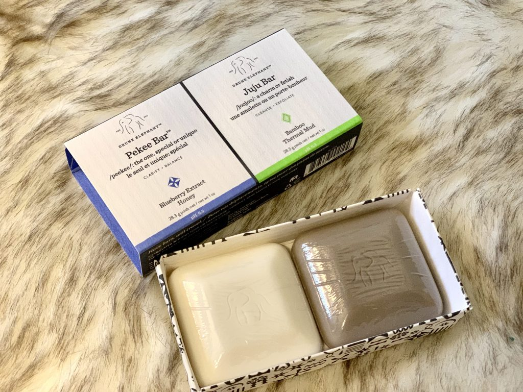 Drunk Elephant Travel Duo bar soaps