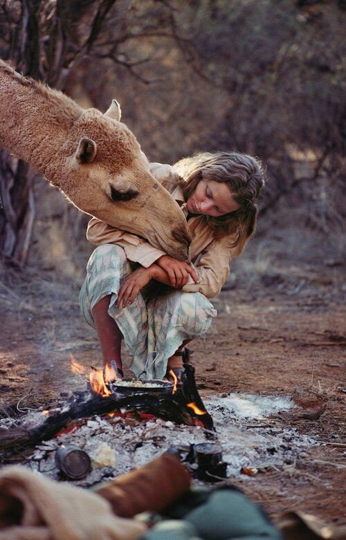 Robyn Davidson, author of Tracks, classic of female traveller books