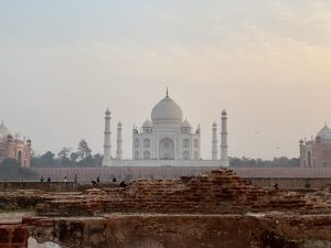 View of the Taj Mahal from Metab Bagh