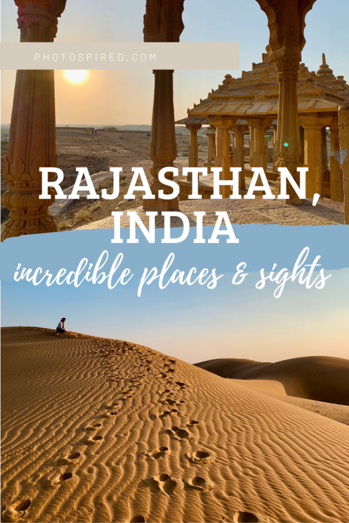 pinterest pin for rajasthan itinerary