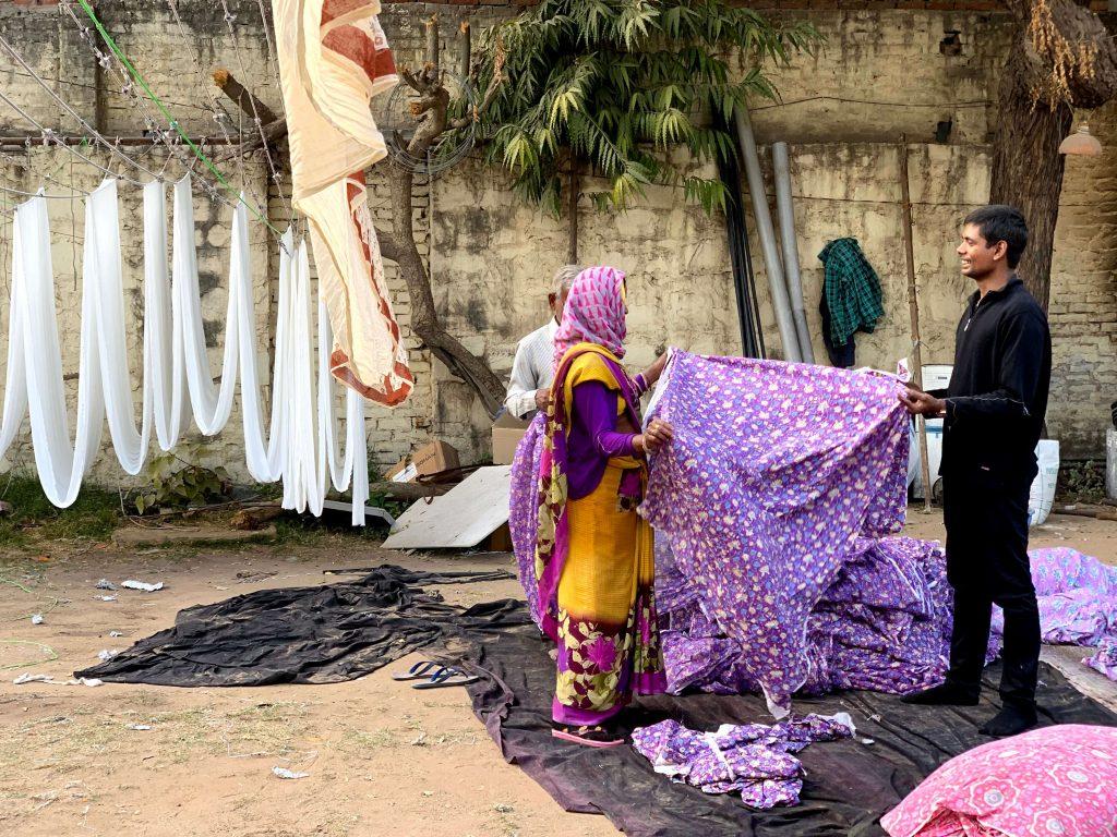 textile artisans in sanganger in jaipur