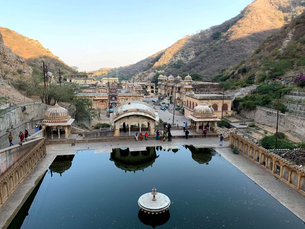 Galta ji in Jaipur